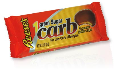 Reese's low-carb packaging
